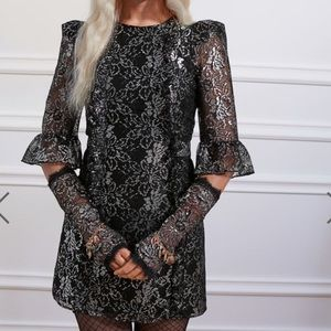 H&M X Vampires Wife Lace mini dress